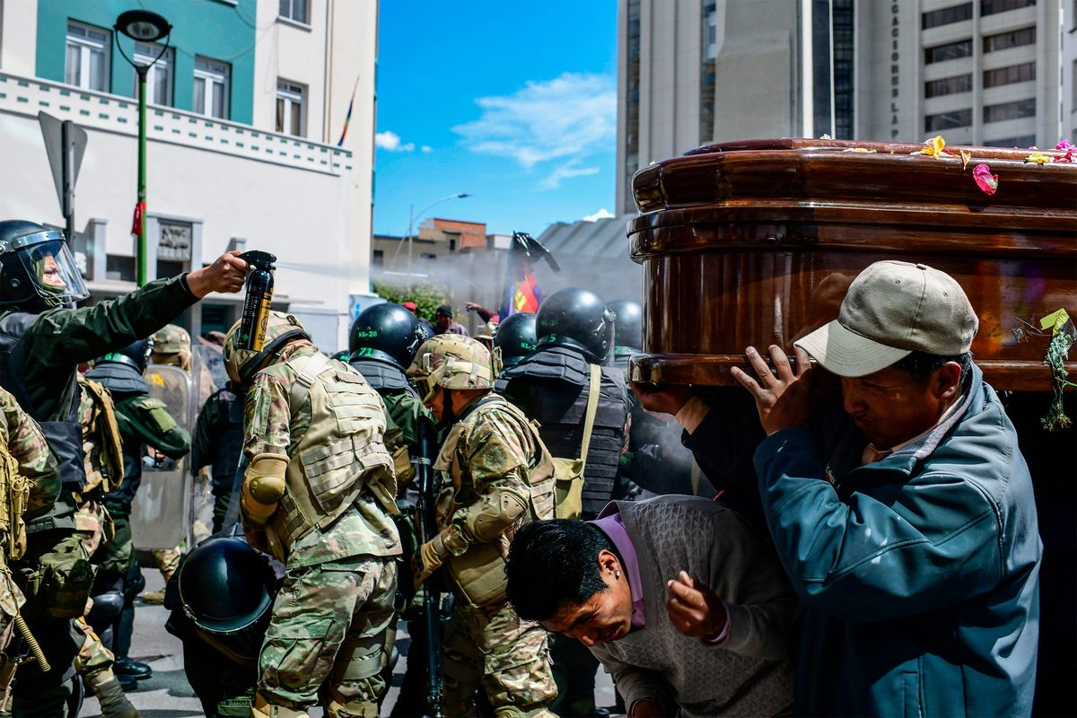 Bolivian Lawmakers Prepare to Call New Elections to End Violence