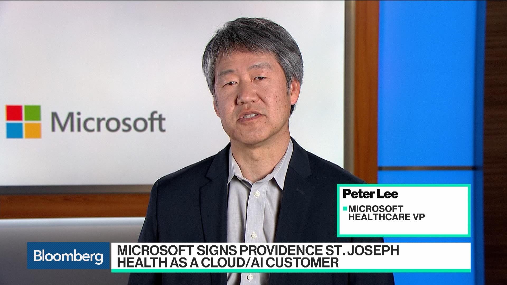 Microsoft Signs Up Providence Hospital Chain as Cloud, AI