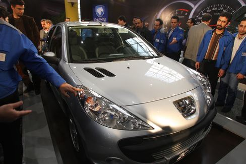Iran Khodro's Locally Built Peugeot 207i