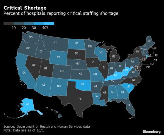 Vaccine Mandates Hit Amid Historic Health-Care Staff Shortage