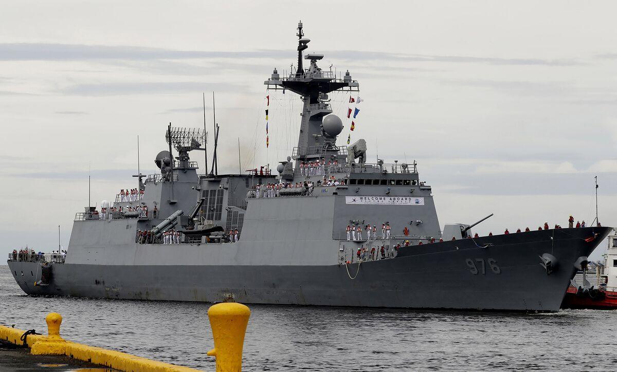 South Korea to Retrieve Sailors Aboard Virus-Hit Destroyer Off Africa
