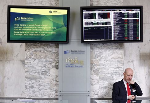 European Stocks Are Little Changed as Finance Ministers Meet