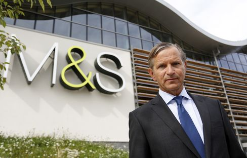 Marks & Spencer CEO Marc Bolland