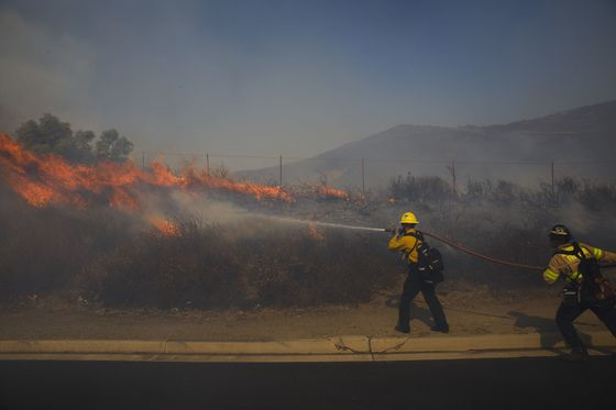 Trump to California's Governor: Get 'Act Together' on Fires