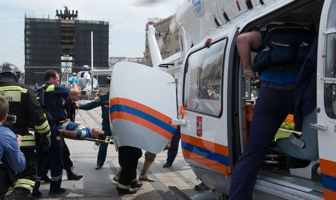 Derailed Moscow Subway Train Kills at Least 5, Injures 120