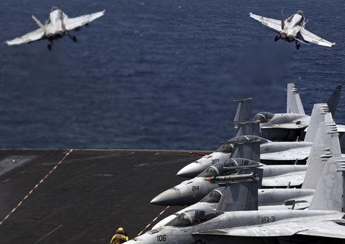 U.S. Conducts First Airstrikes in Syria Against Islamic State