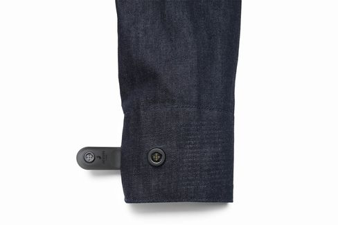 """A removable """"smart tag"""" allows the jacket to connect to your phone or tablet viaBluetooth."""