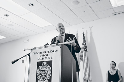 Booker addresses recent graduates in June