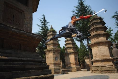 China's 'Birthplace of Kung Fu' Hopes to Lure CEOs for Meditation Training
