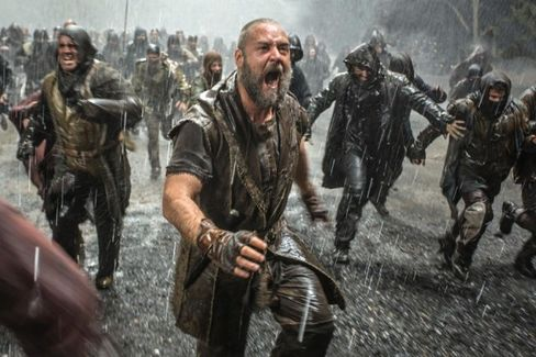 Russell Crowe Meets the Pope, but Will Religious Viewers See Noah?