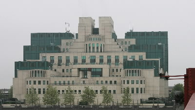 MI6 Building in London