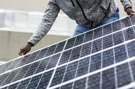 Residential Solar Installation As Energy Demand In Historic Decline