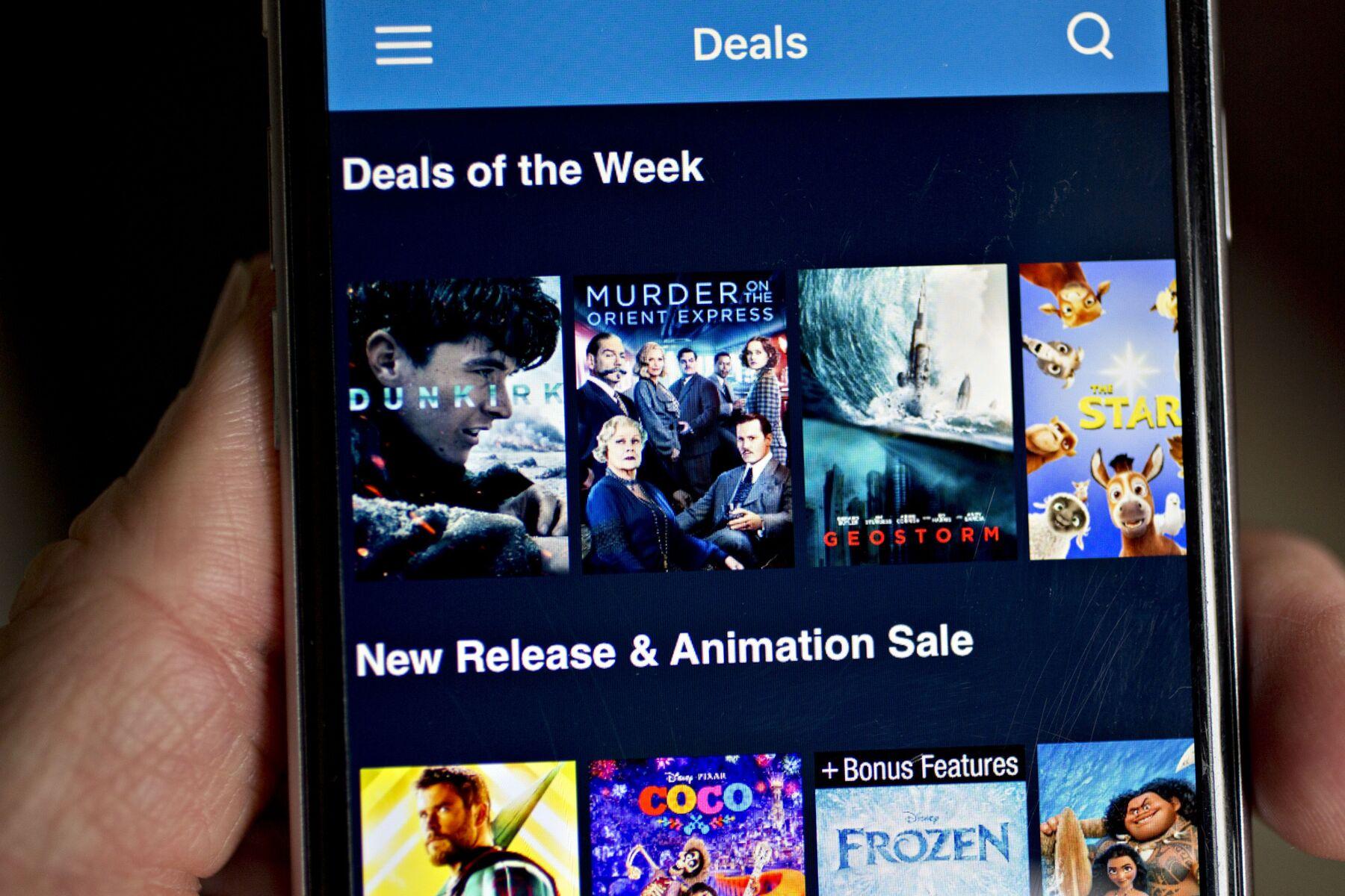 Walmart's Vudu streaming platform