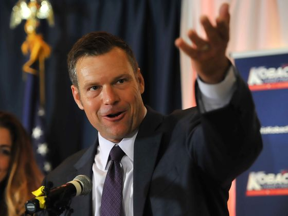 Trump Ally Kobach Claims GOP Nomination for Kansas Governor