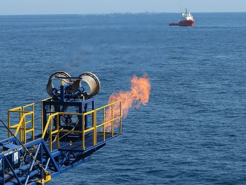 Japan Begins Test Production of Frozen Gas Locked Under Seabed