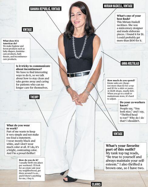 What I Wear to Work: SCA Americas' Susan Michini