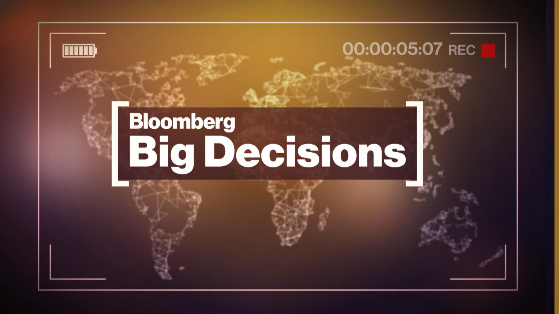 'Bloomberg Big Decisions' - Richard Thaler