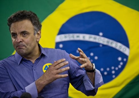Presidential Candidate Aecio Neves