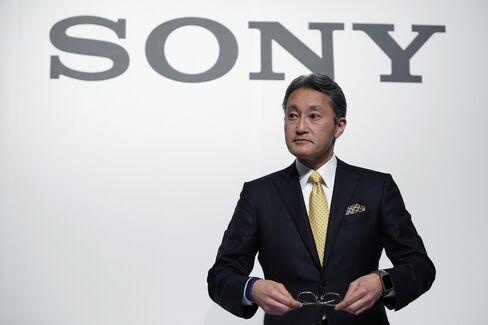 Sony Corp. Chief Executive Officer Kazuo Hirai