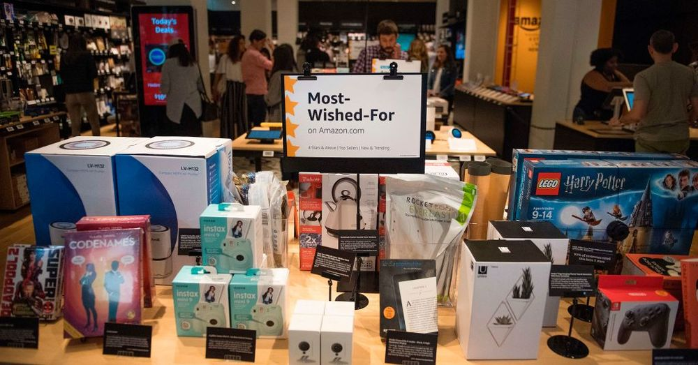 40498ca83076 A Tour of Amazon's 4-Star Store, a Retail Oddity - Bloomberg
