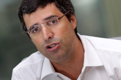(ARCHIVE) File picture 03/22/2013 of Andre Esteves, BTG Pactual bank's president, in an interview at the bank's headquarters in Sao Paulo
