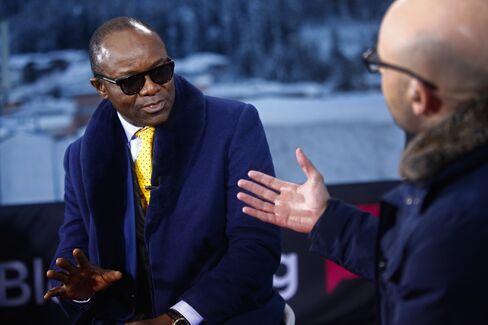 Emmanuel Kachikwu in Davos