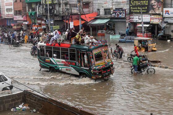Unprecedented Monsoon Rains Kill At Least 15 in Karachi