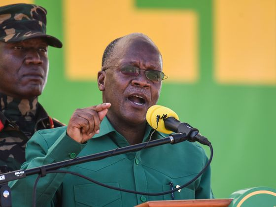 Tanzania President Sworn for Second Term After Disputed Election