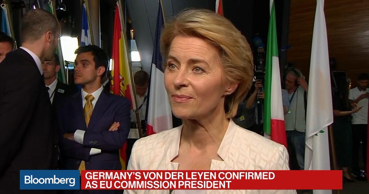 Von Der Leyen: Must Work Together With U S  - Bloomberg