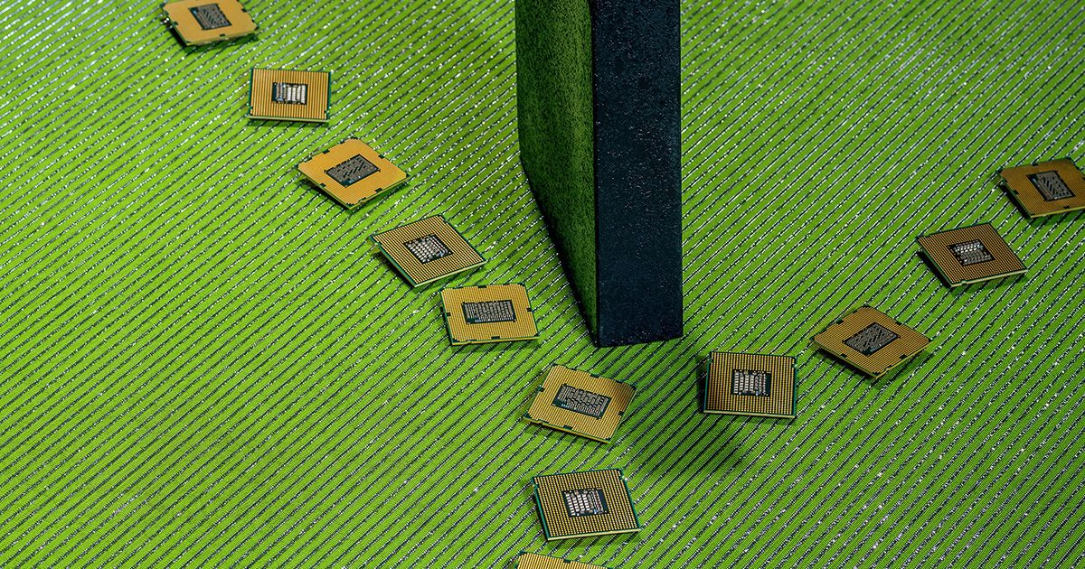 What Chipmakers Tell Us About the Great Global Unwinding