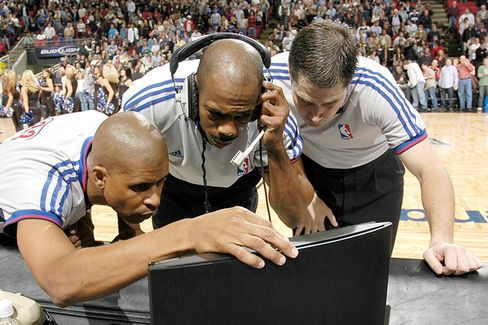 Samsung Bought Almost Every Screen Anywhere Near an NBA Game