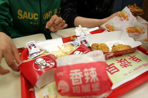 After Chicken Woes, Yum Feels Upbeat About China Again