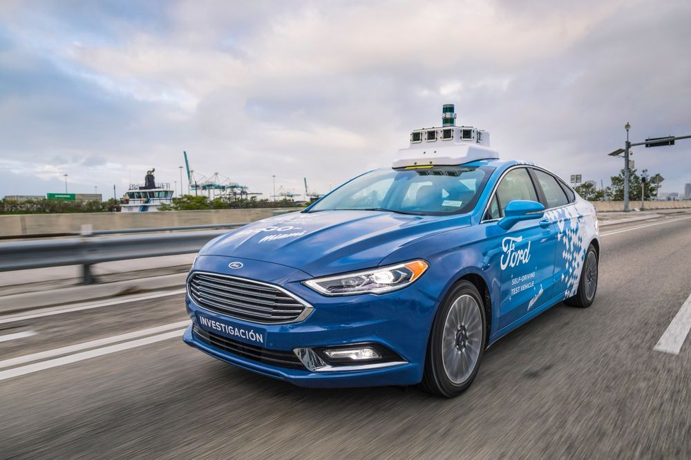 Ford and Argo AI Gain Ground on Waymo, GM's Cruise - Bloomberg