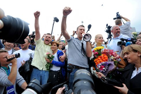 Why Russian Tech Entrepreneurs Are Willing to Risk Backing Navalny
