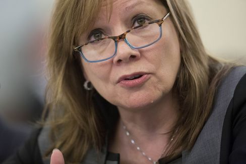 General Motors Co. Chief Executive Officer Mary Barra