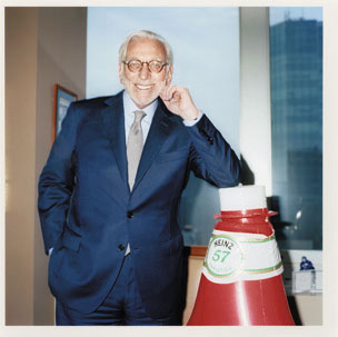 Peltz, in his New York office, won seats on Heinz's board after a proxy fight