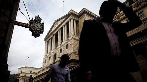 The Bank of England (BOE) in London.