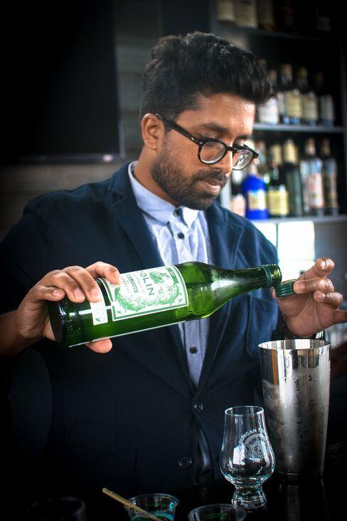 London-based Chetiyawardana has made a name for himself with innovative bars focused on environmental sustainability.