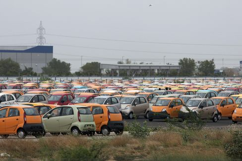 India Slowdown Thwarts Automaker Sales Search Beyond U.S.