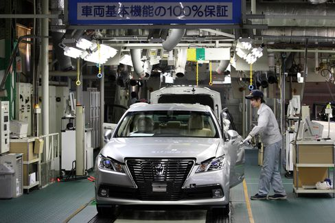 Toyota's Motomachi Plant In Toyota City