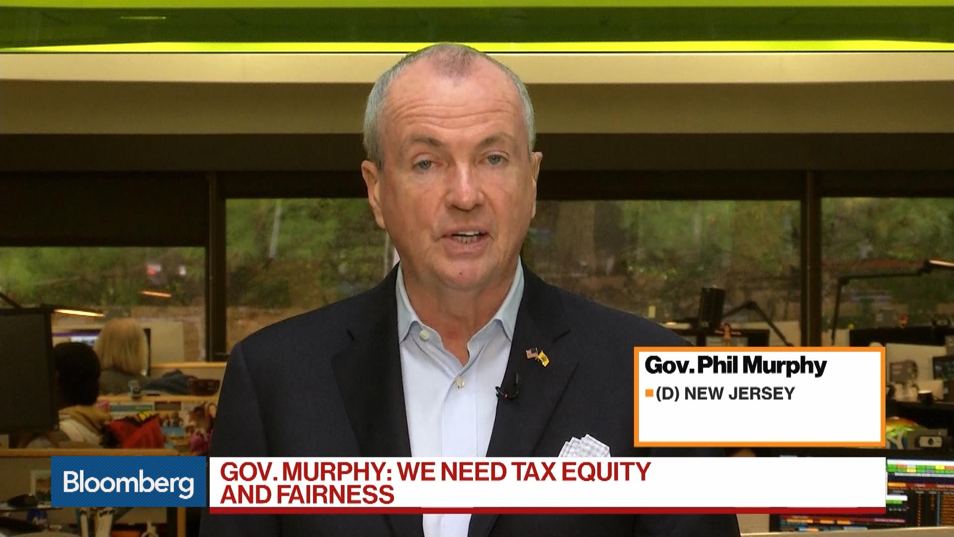 Trump 'Weaponized' Tax Law Against New Jersey: Governor Phil Murphy