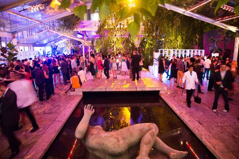 MoMA's annual party in the garden. Tables at the dinner range from $25,000 to $100,000, with individual tickets beginning at $2,500.