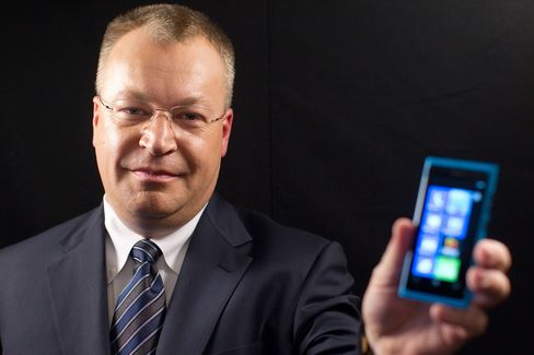 Nokia Oyj Chief Executive Officer Stephen Elop