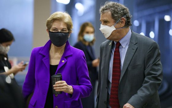 Goldman Pandemic Loans Spur Scrutiny From Senate's Brown, Warren