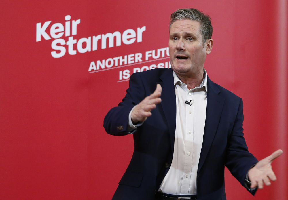 Labour's Keir Starmer Is On the Right Side of Britain's Culture Divide -  Bloomberg