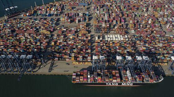 China's Worse-Than-Suez Ship Delays Set to Widen Trade Chaos