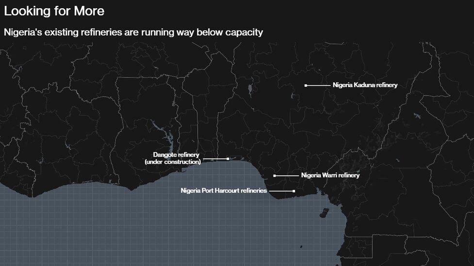 Mini-Refineries Race Billionaire to Fix Nigerian Fuel Crisis - Bloomberg