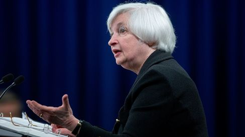 Janet Yellen, chair of the U.S. Federal Reserve, during a news conference following a Federal Open Market Committee (FOMC) meeting in Washington, D.C., on Sept. 17, 2015.