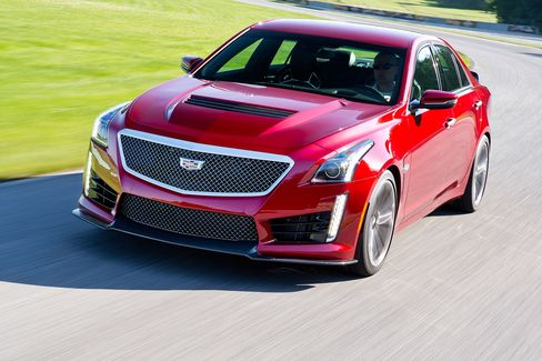 The CTS-V gets 640 horsepower on its 8-speed automatic rear-wheel drive.