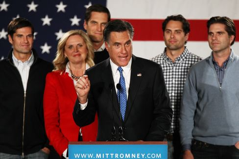 Romney Tax Returns Show Strategies For Moving Money to Kids